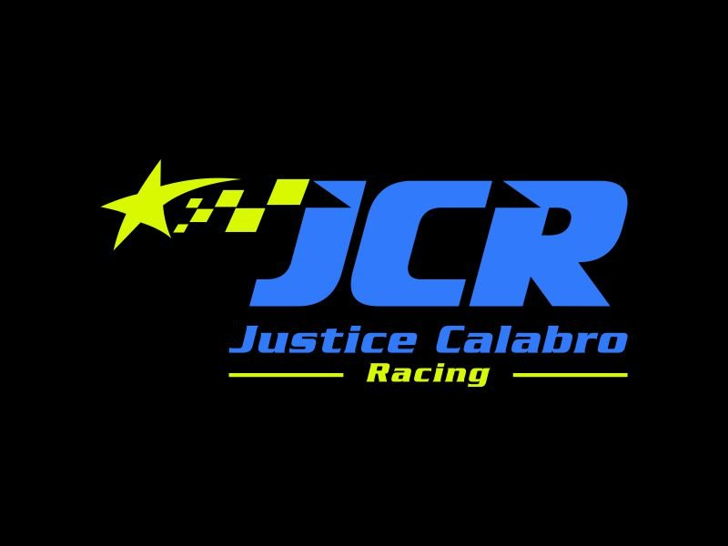 J C R Justice Calabro Racing logo design by mbamboex