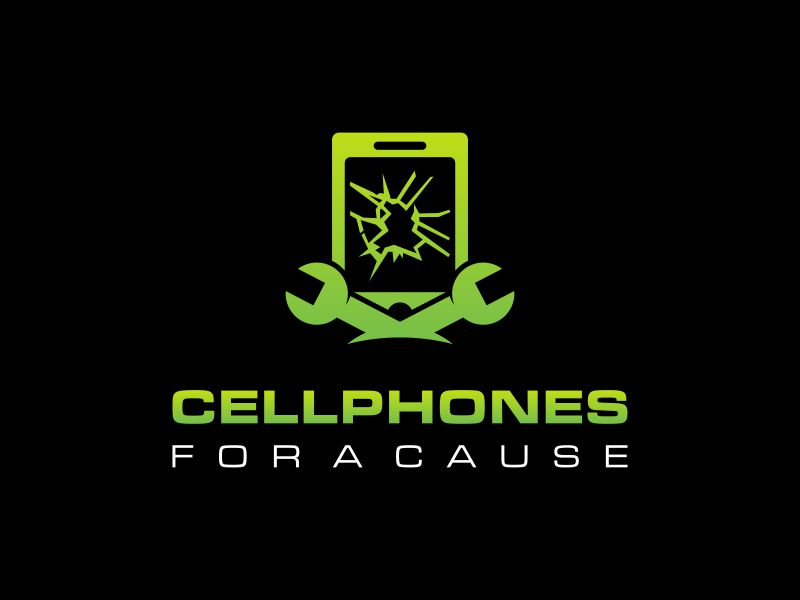 Cellphones For A Cause logo design by Lewung