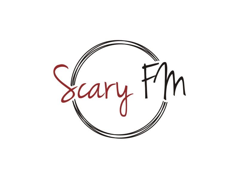 Scary FM logo design by Arto moro