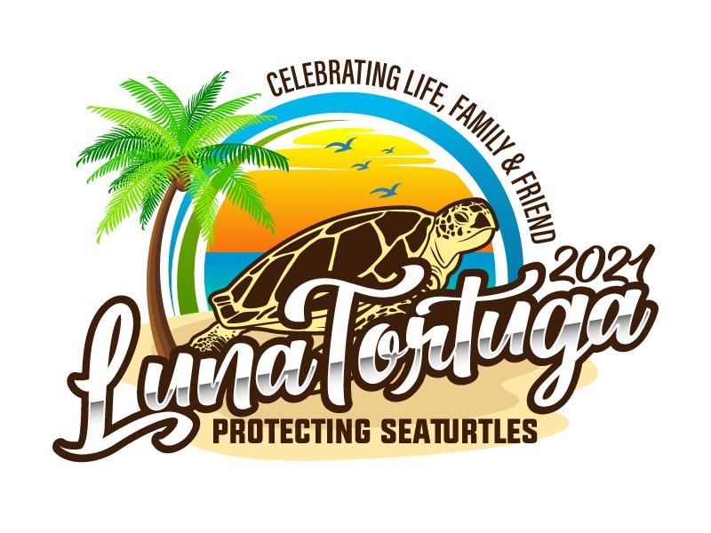 LunaTortuga 2021 logo design by daywalker
