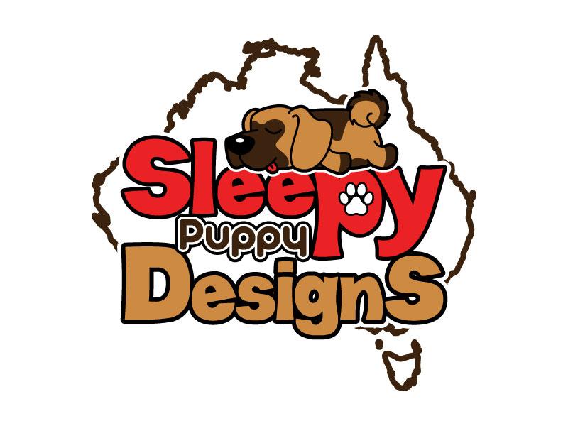 Sleepy Puppy Designs By Jason White logo design by uttam