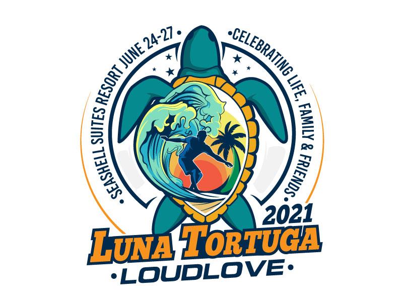 LunaTortuga 2021 logo design by usashi
