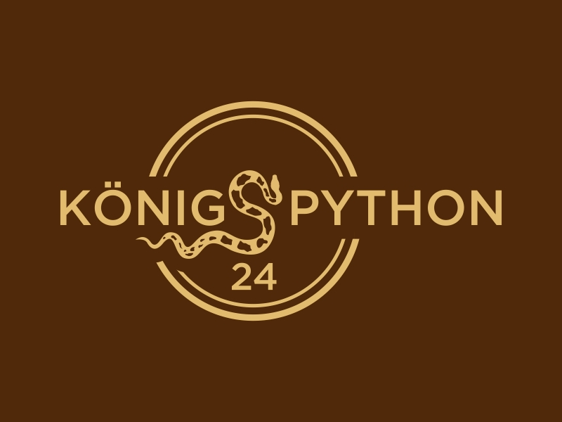 Königspython24 logo design by GassPoll