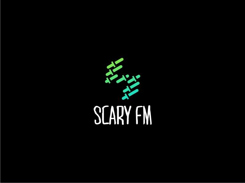 Scary FM logo design by restuti