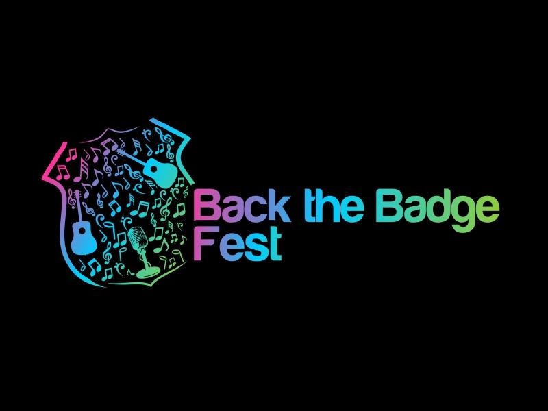 Back the Badge Fest logo design by Republik