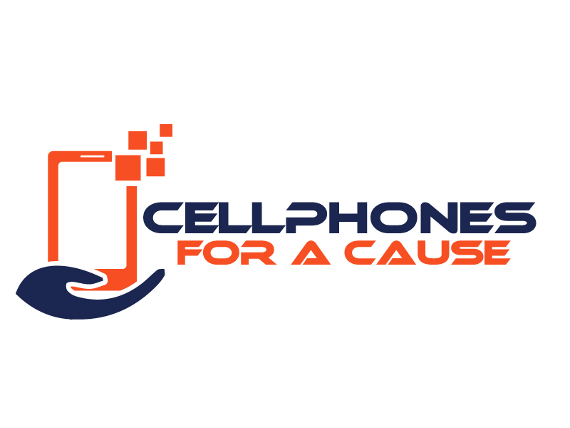 Cellphones For A Cause logo design by ElonStark