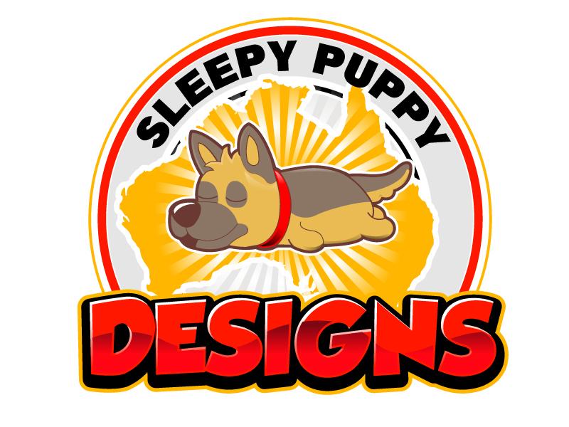 Sleepy Puppy Designs By Jason White logo design by Suvendu