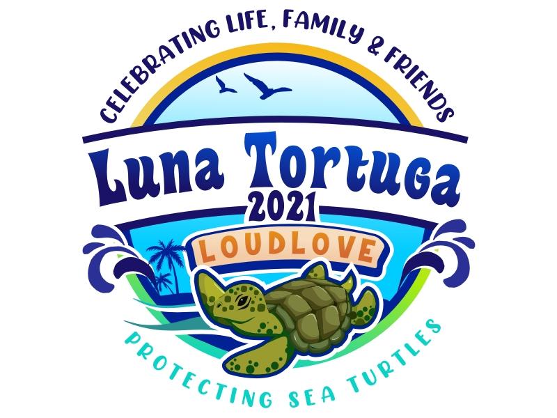 LunaTortuga 2021 logo design by coco