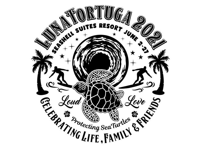LunaTortuga 2021 logo design by aura