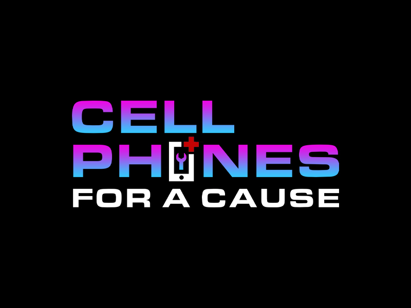 Cellphones For A Cause logo design by Bananalicious