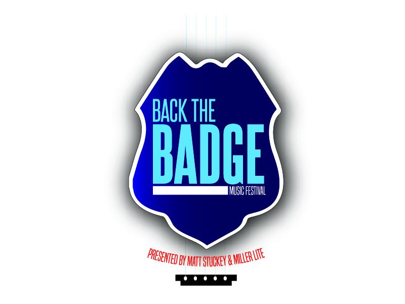 Back the Badge Fest logo design by Carli Yario Lindahl