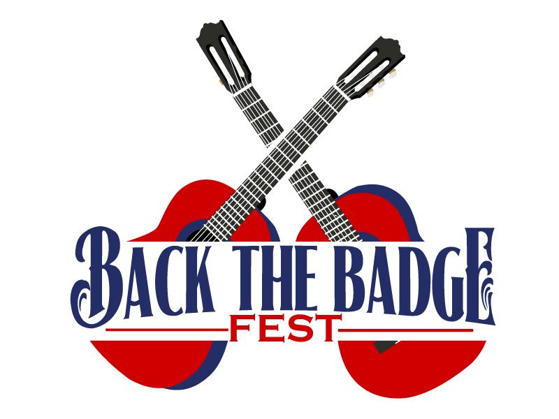 Back the Badge Fest logo design by ElonStark