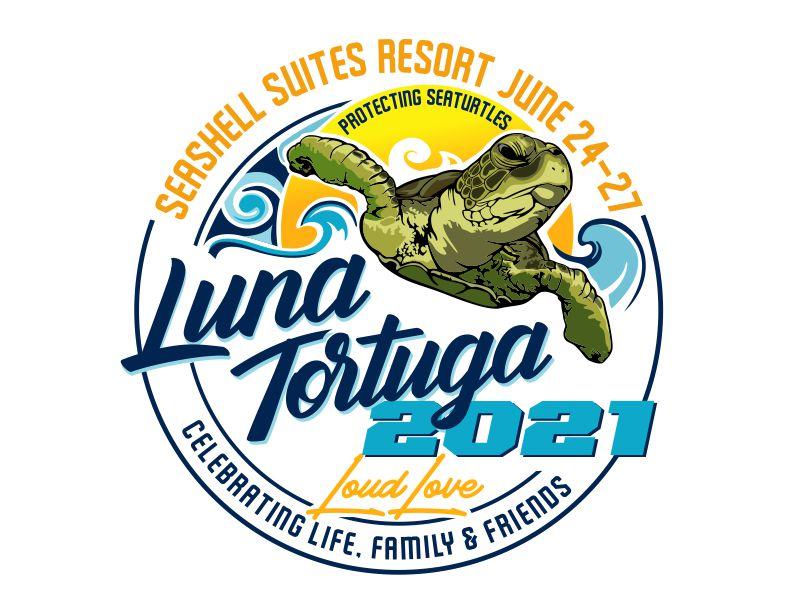 LunaTortuga 2021 logo design by veron