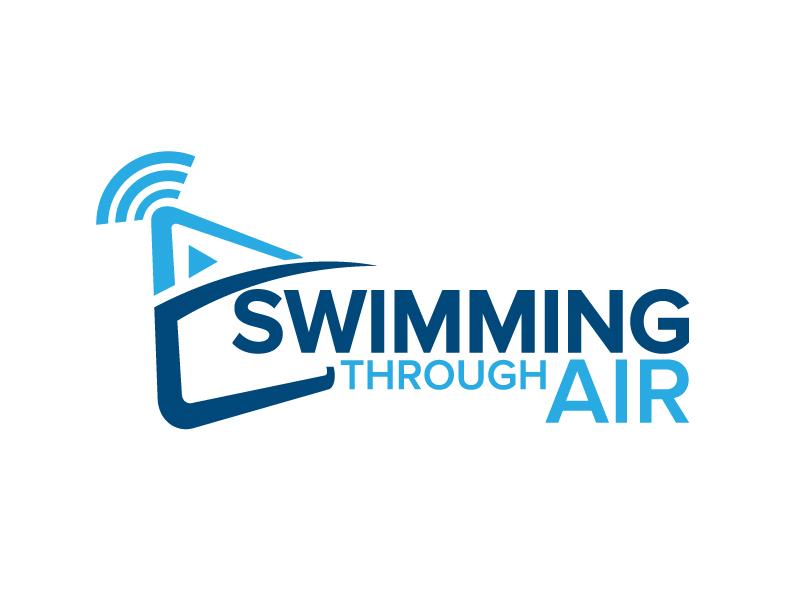 SWIMMING THROUGH AIR (STA) logo design by jaize