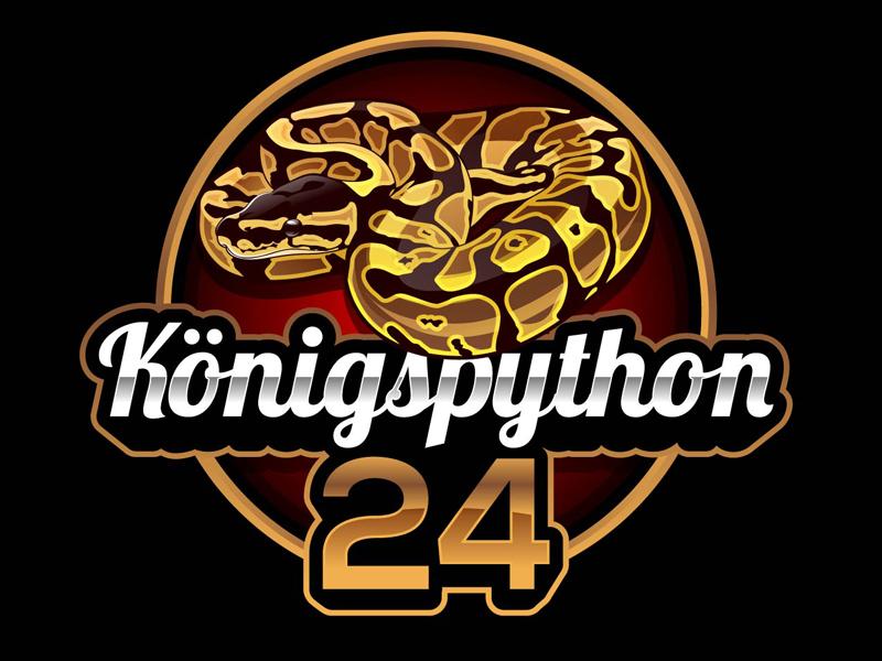 Königspython24 logo design by DreamLogoDesign