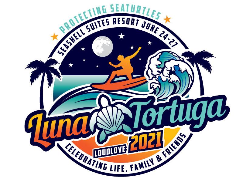 LunaTortuga 2021 logo design by REDCROW