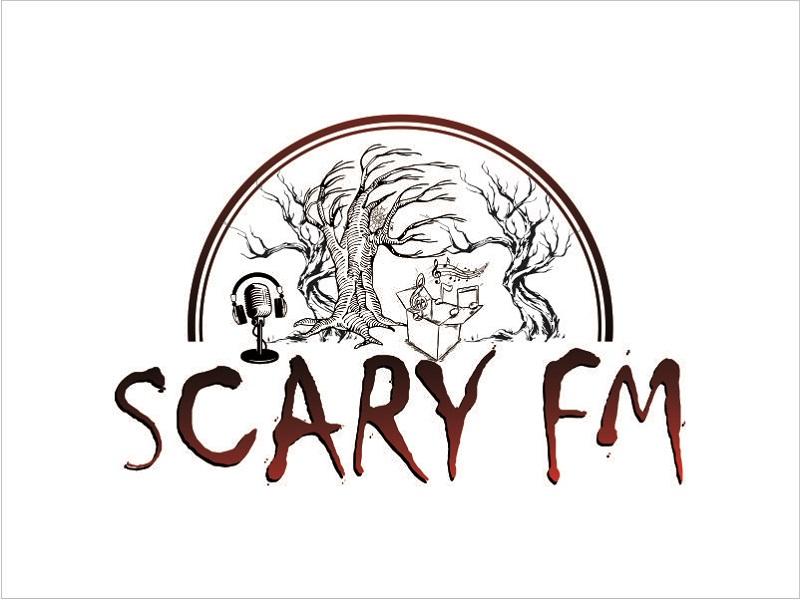 Scary FM logo design by Nurramdhani