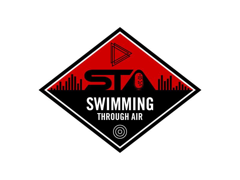 SWIMMING THROUGH AIR (STA) logo design by torresace