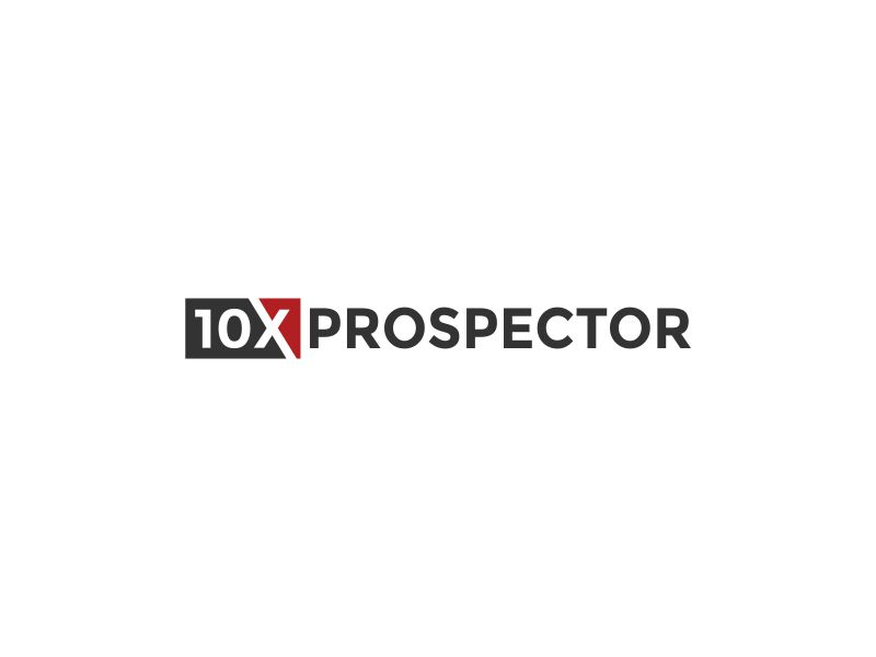 10X Prospector logo design by Akisaputra