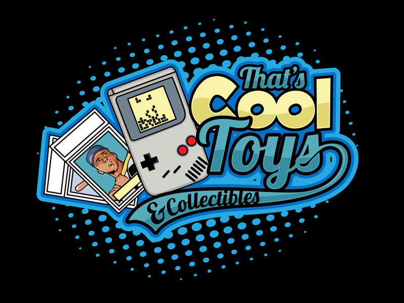 That's Cool Toys & Collectibles Logo Design