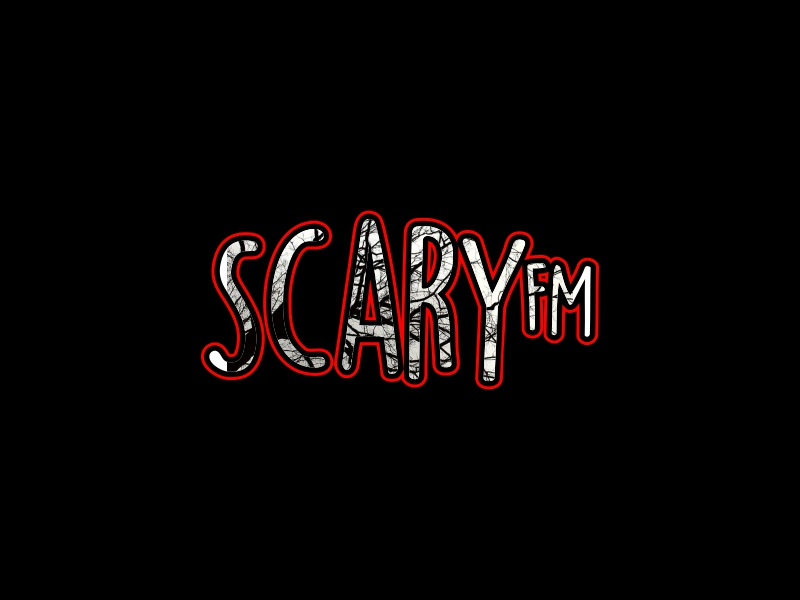 Scary FM logo design by IrvanB