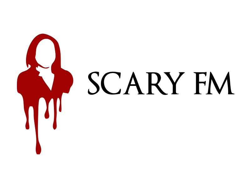 Scary FM logo design by JessicaLopes