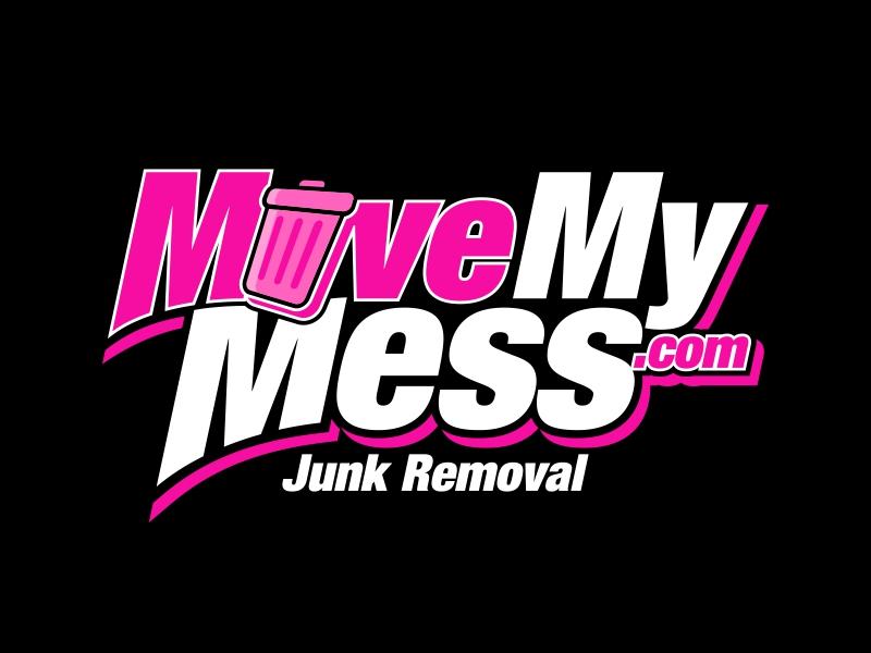 MoveMyMess.com logo design by ekitessar