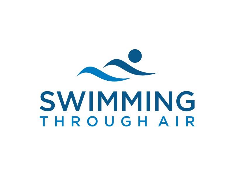 SWIMMING THROUGH AIR (STA) logo design by sabyan