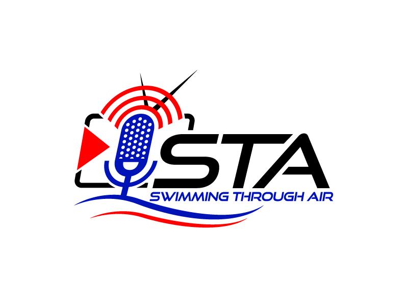 SWIMMING THROUGH AIR (STA) logo design by aRBy