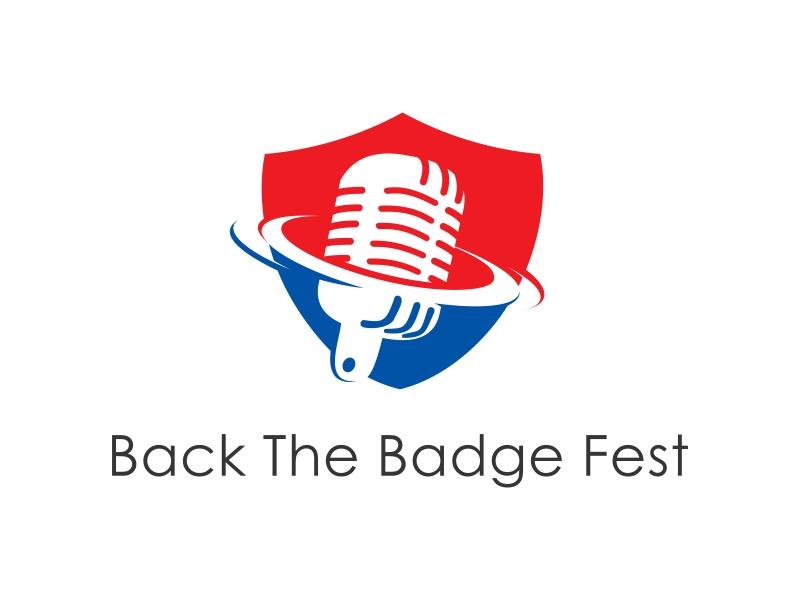 Back the Badge Fest logo design by Kanya