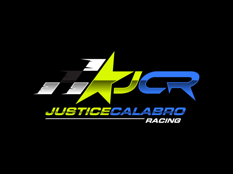 J C R Justice Calabro Racing logo design by torresace