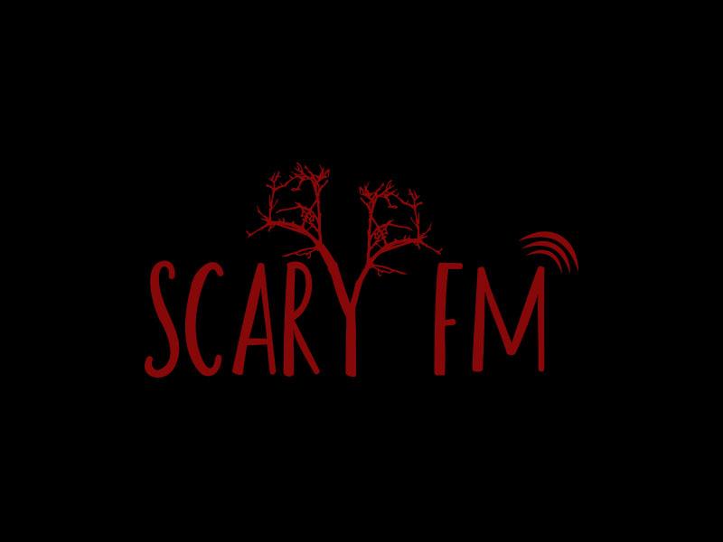 Scary FM logo design by keylogo