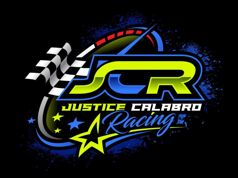 J C R Justice Calabro Racing logo design by REDCROW