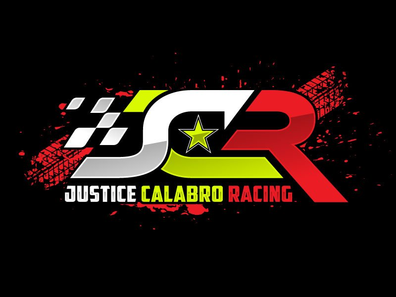 J C R Justice Calabro Racing logo design by nard_07