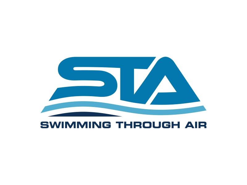 SWIMMING THROUGH AIR (STA) logo design by ekitessar