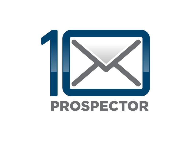10X Prospector logo design by usashi
