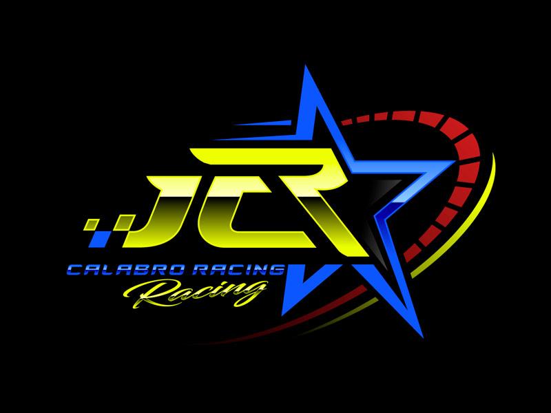 J C R Justice Calabro Racing logo design by gogo