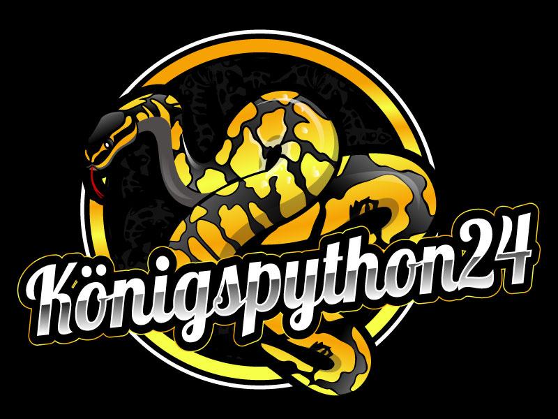 Königspython24 logo design by Suvendu