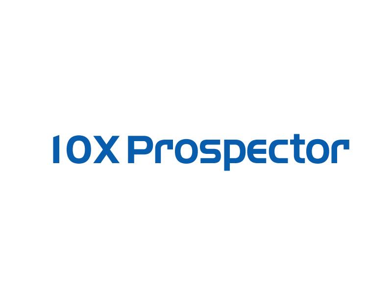 10X Prospector logo design by ElonStark