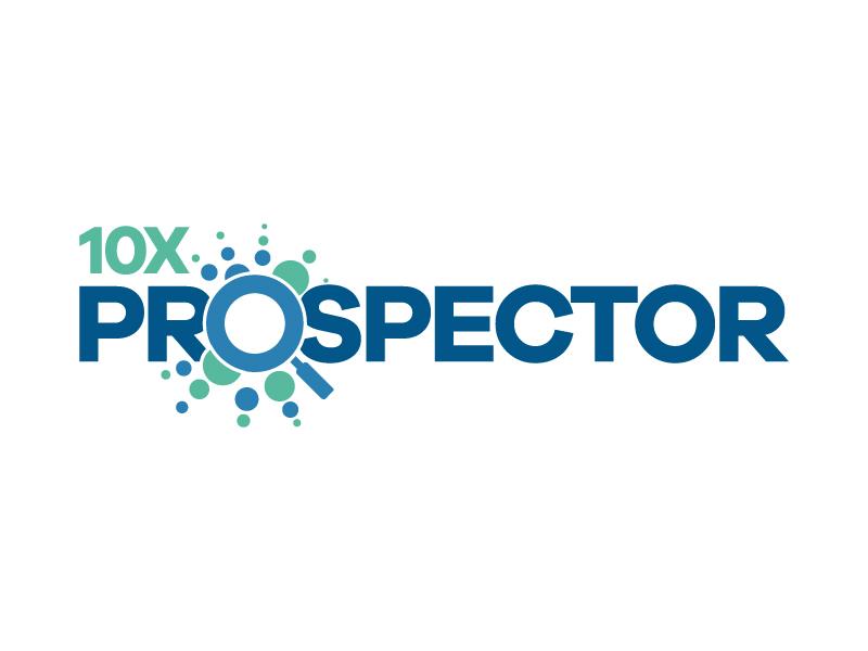 10X Prospector logo design by karjen