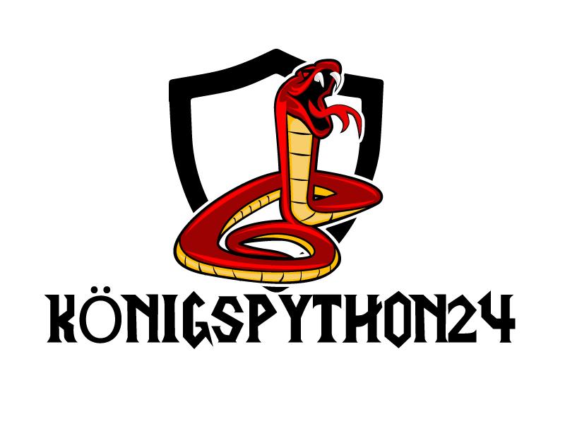 Königspython24 logo design by ElonStark