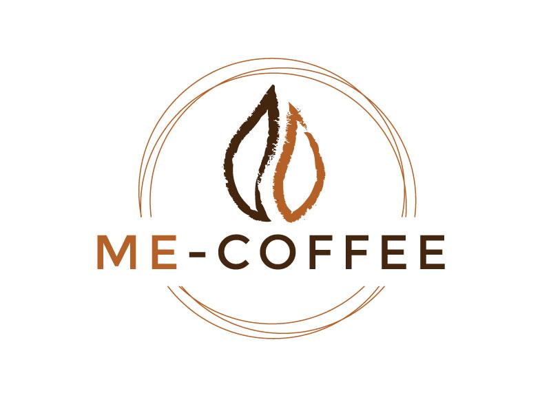 ME-COFFEE Logo Design