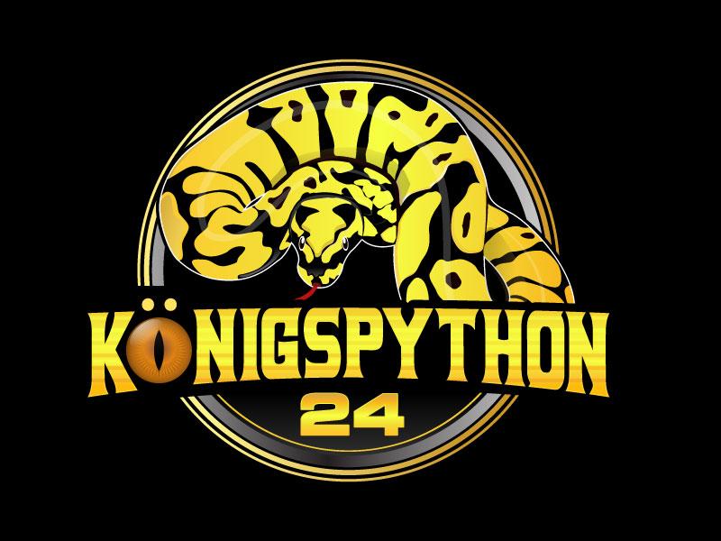 Königspython24 logo design by LogoQueen