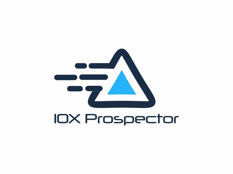 10X Prospector logo design by Greenlight
