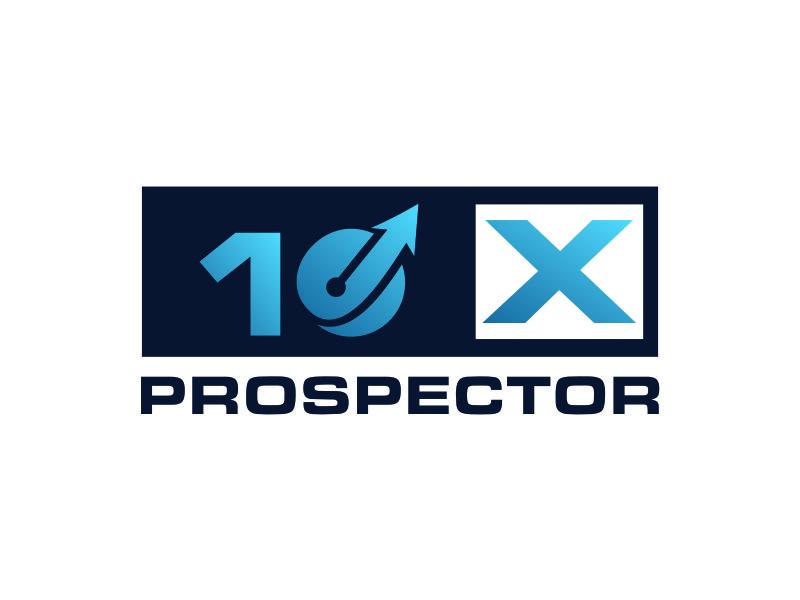 10X Prospector logo design by azizah