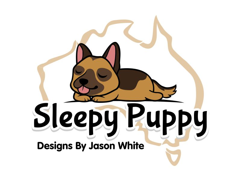 Sleepy Puppy Designs By Jason White logo design by ingepro