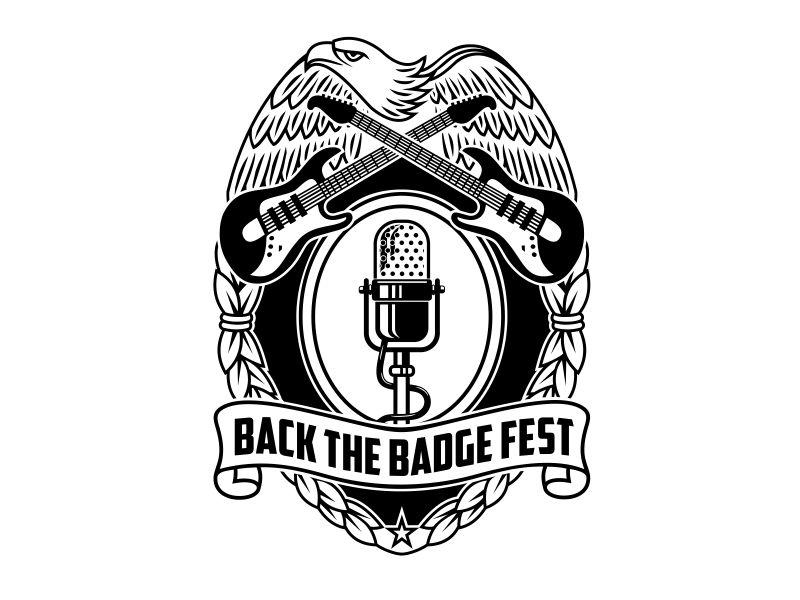 Back the Badge Fest logo design by aura