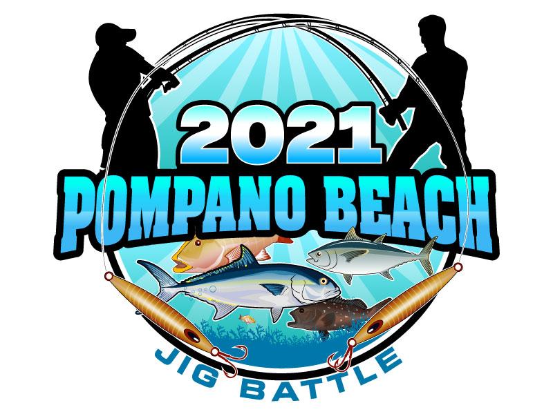 2021 POMPANO BEACH JIG BATTLE logo design by Suvendu