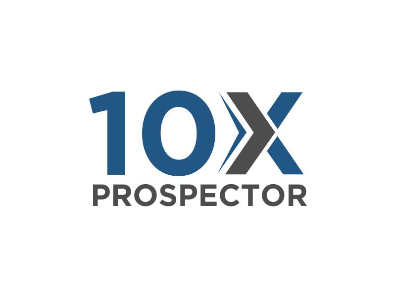 10X Prospector logo design by kopipanas