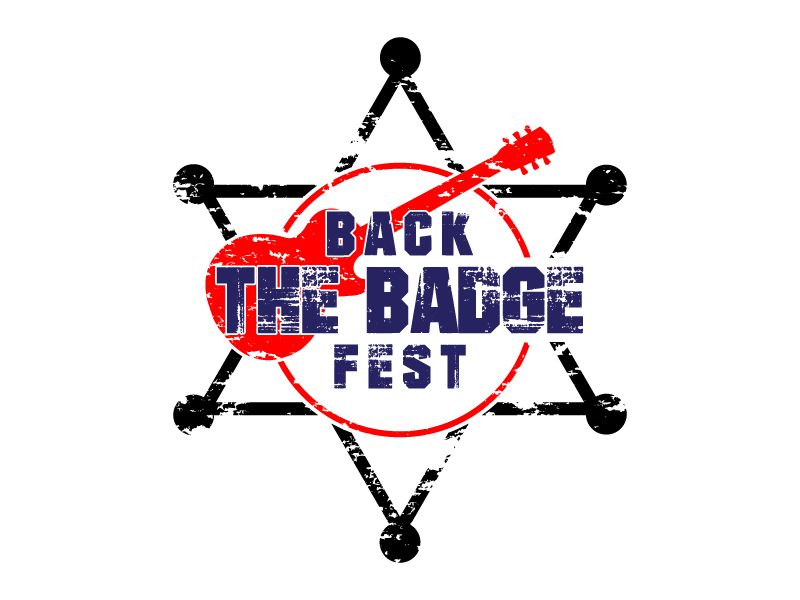 Back the Badge Fest logo design by art84
